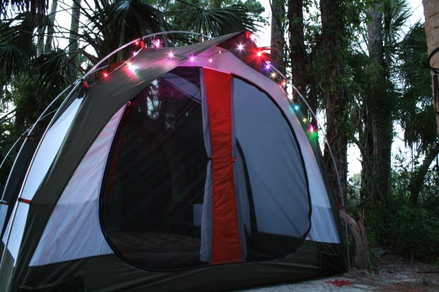 the new rei kingdom 4 sporting some eno led lights!